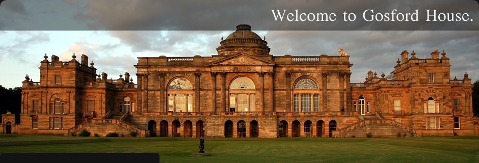 Welcome to Gosford House.